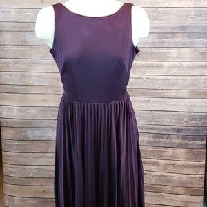 BETSEY JOHNSON Sleeveless zipper detail dress